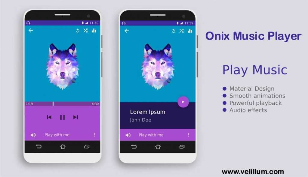 Onix Music Player Android App