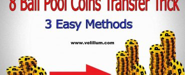 8 Ball Pool coins transfer trick