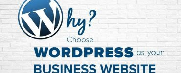 Choose WordPress for Business Website