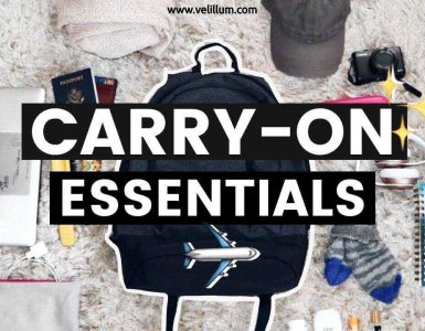 Carry on essentials: Long and Short Haul Flights