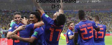 Columbia vs Poland - FIFA World Cup 2018