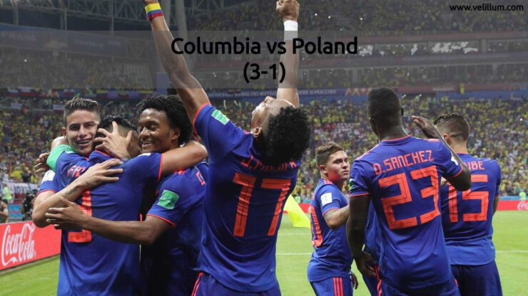 Columbia vs Poland - FIFA World Cup 2018