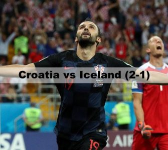 Croatia vs Iceland - FIFA World Cup 2018