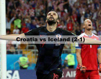 Croatia vs Iceland - FIFA World Cup 2018
