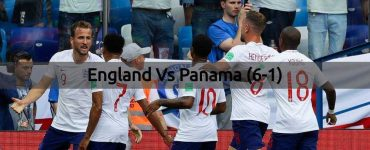 England Vs Panama - FIFA World Cup 2018