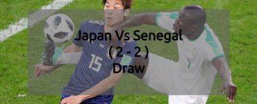 Japan Vs Senegal - FIFA World Cup 2018