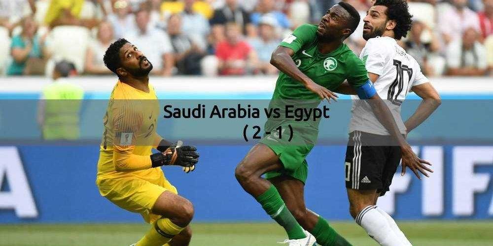 Saudi Arabia Vs Egypt - FIFA World Cup 2018