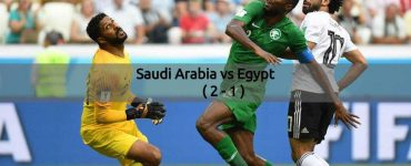Saudi Arabia Vs Egypt - FIFA World Cup 2018