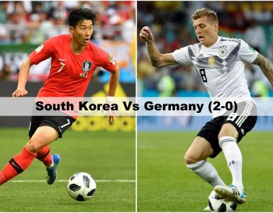 South Korea Vs Germany FIFA World Cup 2018
