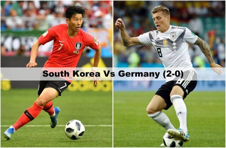 South Korea Vs Germany FIFA World Cup 2018
