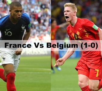 France vs Belgium - FIFA World Cup 2018