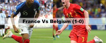 France vs Belgium - FIFA World Cup 2018