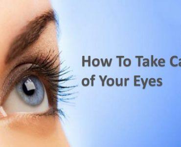 Take Proper Care of Eyes