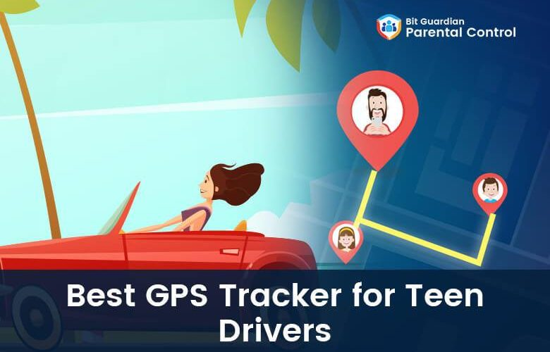 GPS tracker for teen drivers