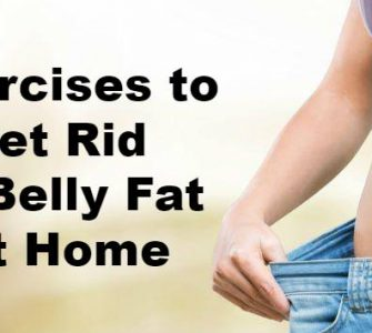 Get Rid of Belly Fat at Home