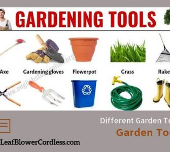 Common Gardening Tools