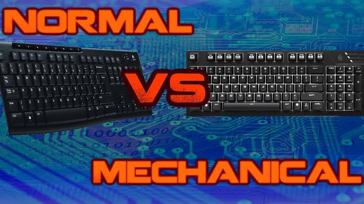 Mechanical Keyboard vs Normal Keyboard
