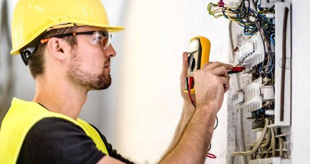 What is the process of electrical estimating of a construction project