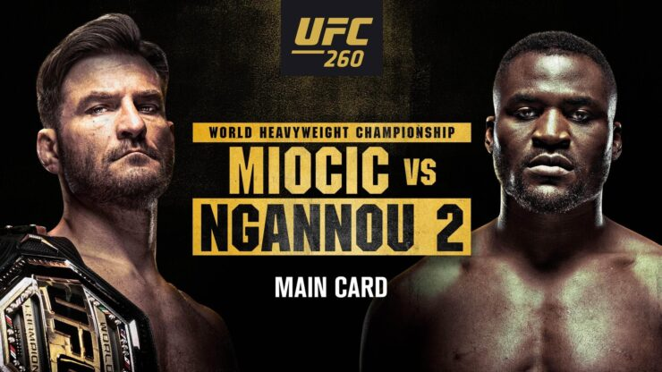 UFC 260 Fight Night Live