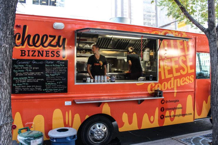 bbq food truck business