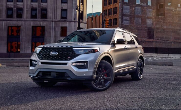 Five of the 10 bestselling vehicles in America!
