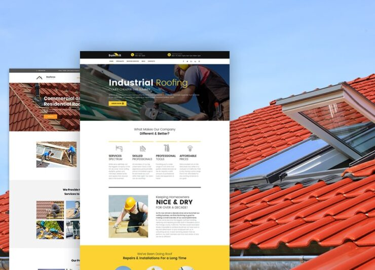 Great Website Design Services for Roofers