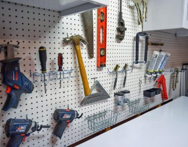The How To's of Installing Pegboards