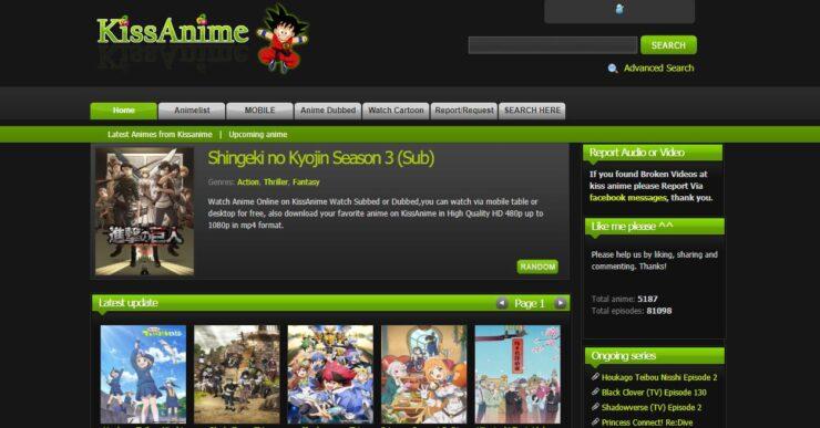 KissAnime Alternatives, Proxy, Mirror Sites