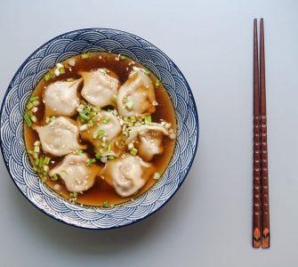 Dumplings of various flavors